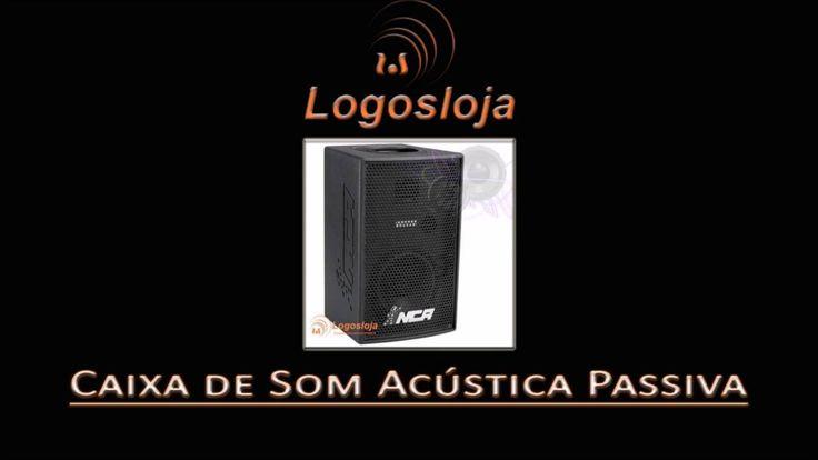 Caixa de Som Acústica Passiva - Logos Loja