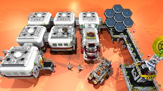 Mars Base Interior (page 4) - Pics about space