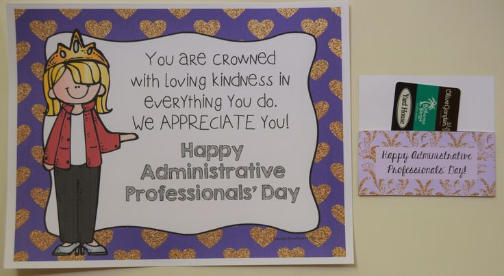 administrative professionals' day is april 22 2020