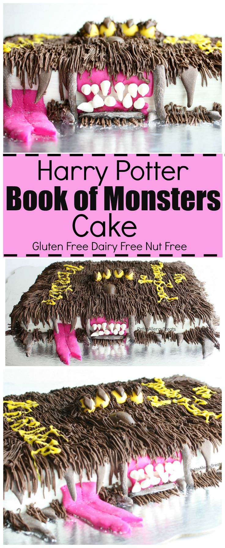 Harry Potter Book Free : Gluten free harry potter book of monsters cake recipe