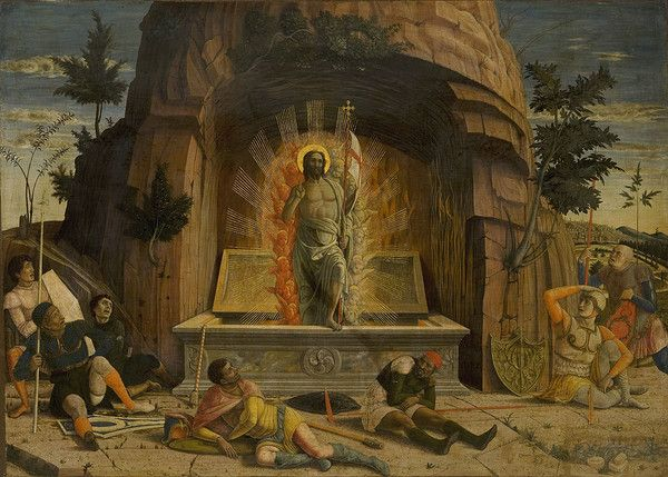 Mantegna, Resurrezione, Museo delle Arti di Tours (F)