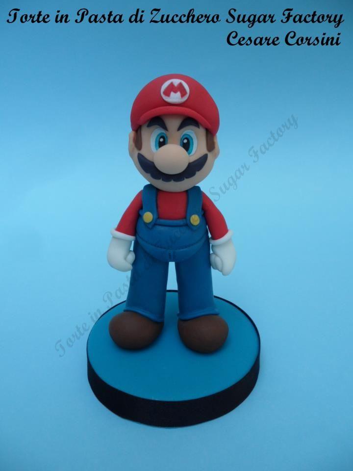 Tutorial Super Mario by Torte in Pasta di Zucchero Sugar Factory