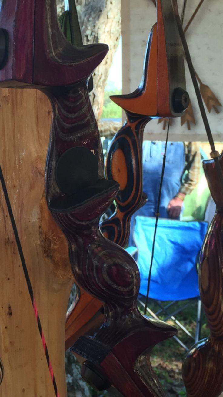 Custom Recurve Bow ~ www.wimberlyarche... Get Recurve Bows at https://www.etsy.com/shop/ArcherySky
