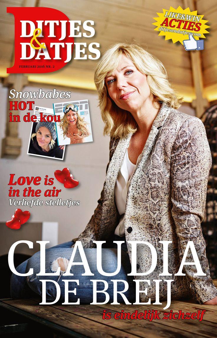 Cover Ditjes & Datjes 2, 2016 met Claudia de Breij. #DitjesDatjes #ClaudiadeBreij #Claudia