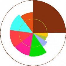 Make your own pie chart! Still chances to win. Buy ticket and win ...