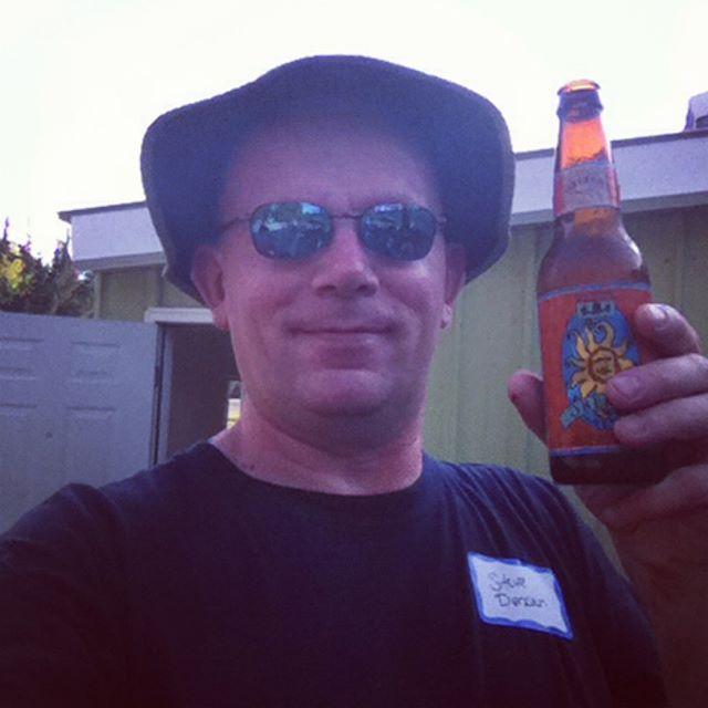 Popped my Obreron Cherry tonight. #bells #oberon #beer #birchrunclasslf1985 #classof1985 #selfie