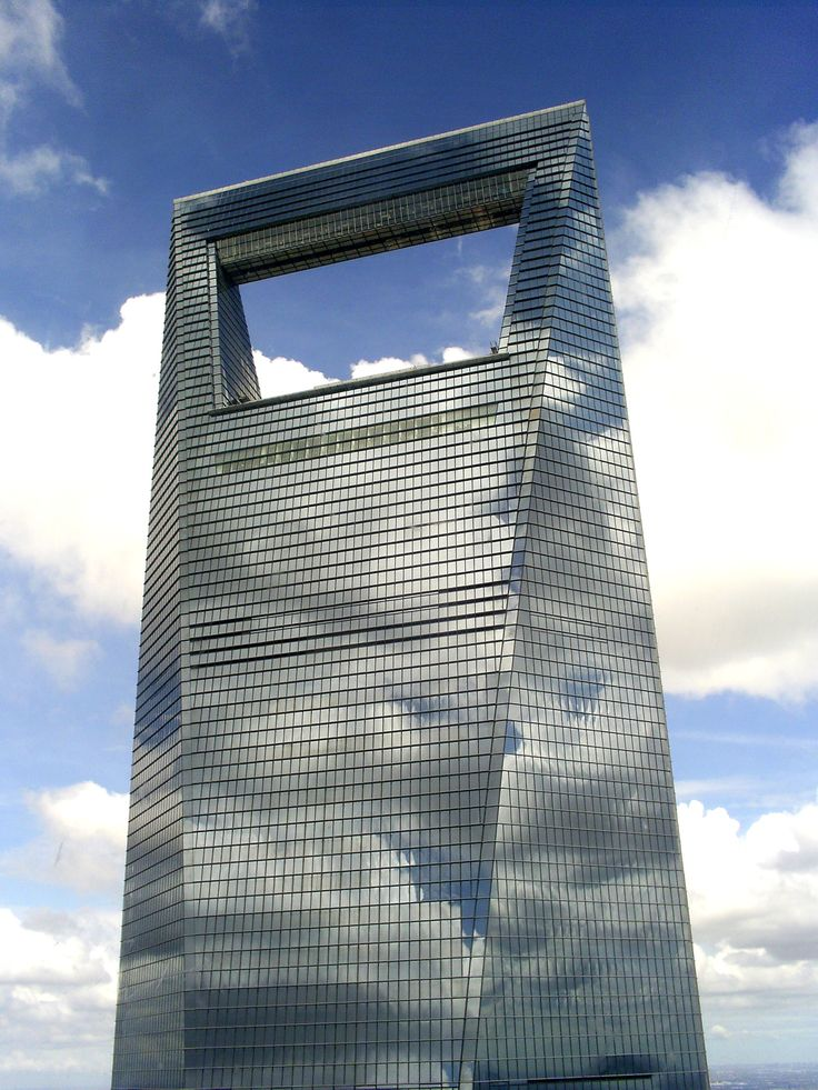 Nicknamed Bottle Opener, the rectangular shaped aperture at the top of the WTC skyscraper in Shanghai was originally designed in oval. But the local authorities stated their objection in what they deemed a semblance of Japan's state symbol.