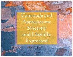 A gratitude reminder.