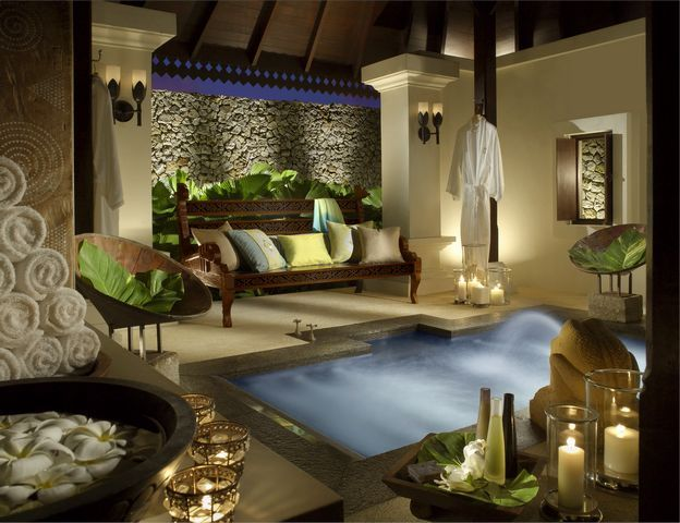 Luxury Spa Bathroom Designs: 25 Best Images About Balinese Bathroom On Pinterest