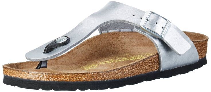 Birkenstock Classic Gizeh Birko-Flor Damen Zehentrenner: Amazon.de: Schuhe &…