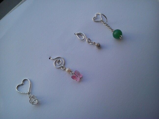 Belly button piercings <3 #imadethem #mystyle #handmade