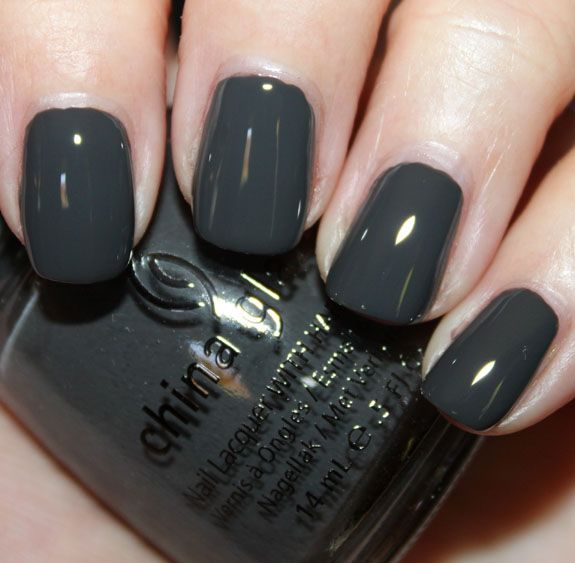 concrete catwalk by china glaze. part of their new metro collection. as seen on vampy varnish (favorite nail blog).