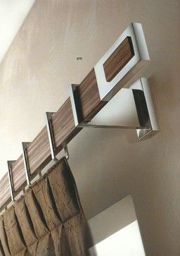 Window Treatments, Curtain Poles And Tie Backs   Contemporary   Curtain  Poles   Manchester UK