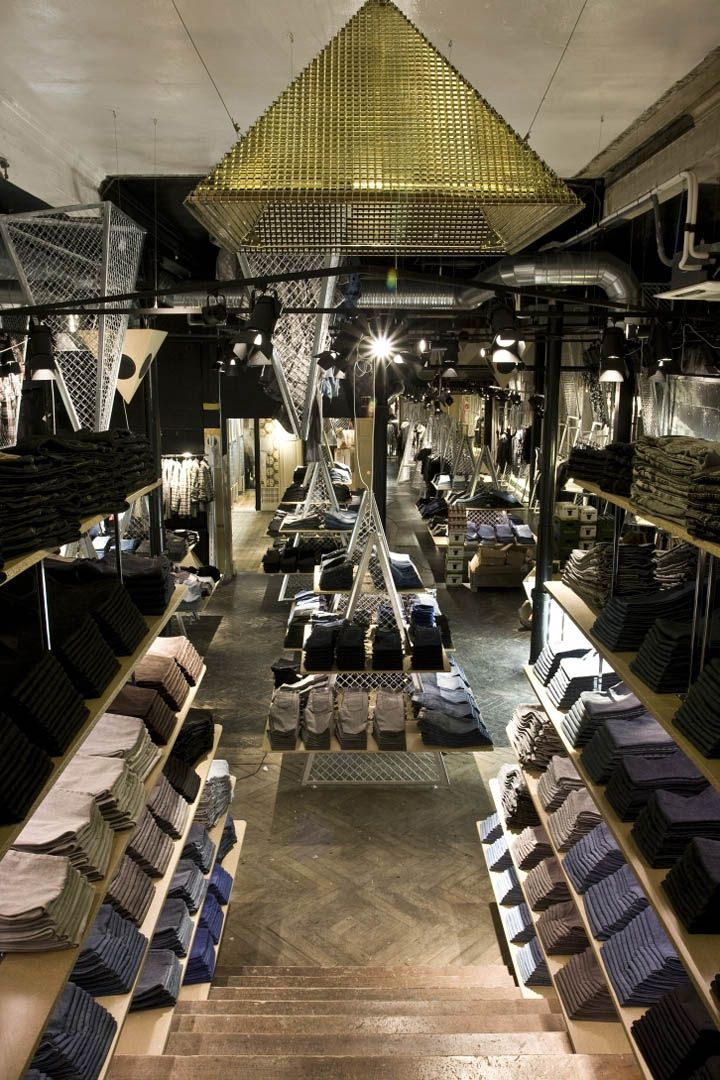 Store Interior Design Cheap Monday Store By Uglycute Copenhagen Retail Deluxe Pinterest