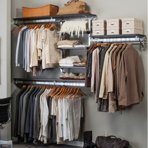 Orginnovations Inc Arrange a Space Best Closet Shelving System I