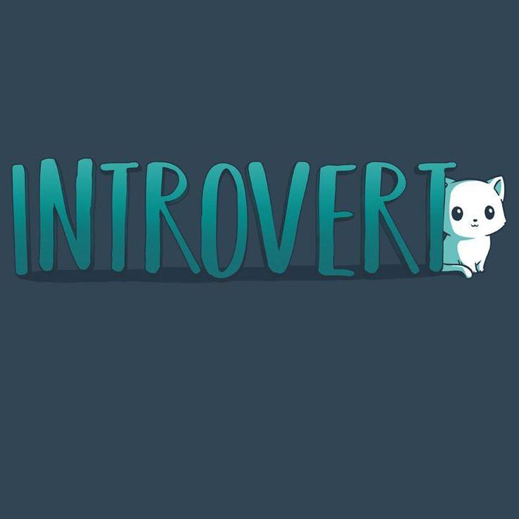 Introvert T-Shirt TeeTurtle (132)