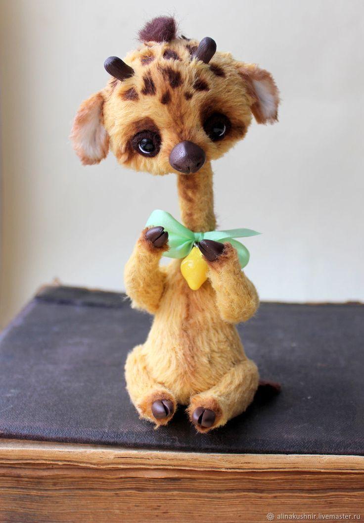 Teddy giraffe | Купить Джорджик в интернет магазине на Ярмарке Мастеров