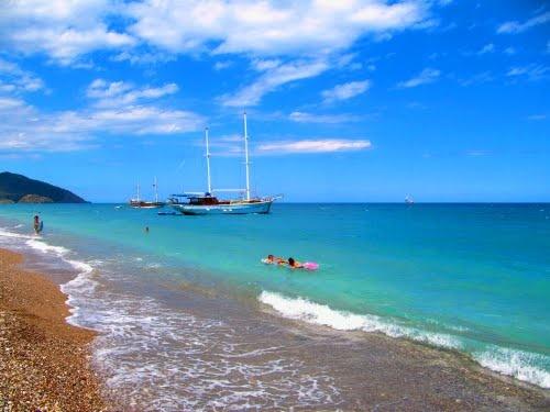 Cirali beach, Turkey