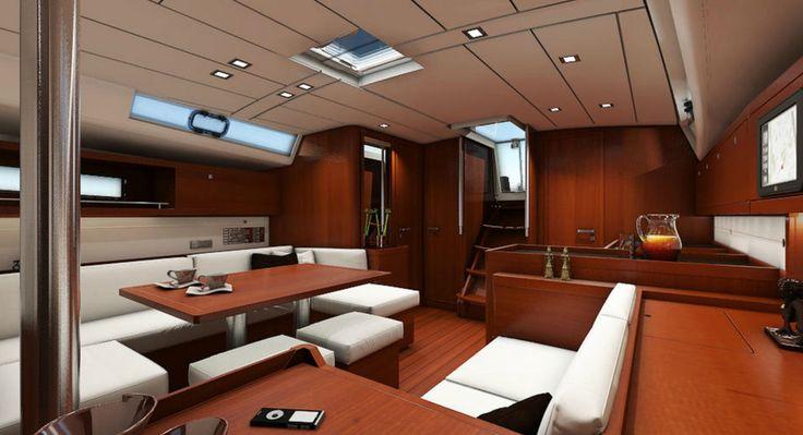 Beneteau Oceanis 45 - interior