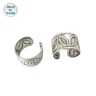 Ear Cuffs Sterling Silver Classic Design Body Jewelry. $18.99. Adjustable Size. Sterling Silver