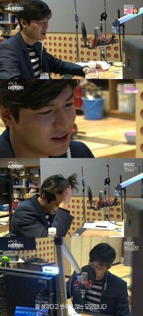 Lee Min Ho Singing : ) ; ) .......