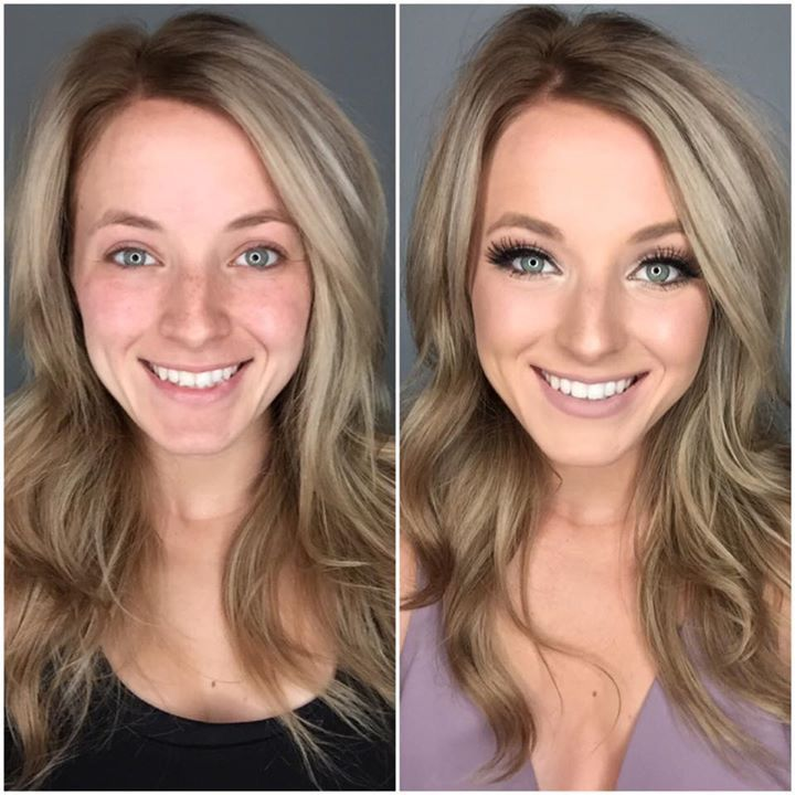 It doesn't take a professional makeup artist to get a before and after look like this. https://multibra.in/6t8kg