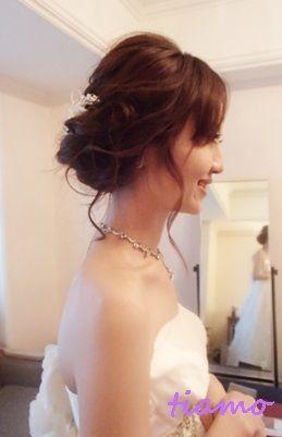 美人花嫁さまの3アップスタイルチェンジで素敵な一日♡ |大人可愛いブライダルヘアメイク『tiamo』の結婚カタログ