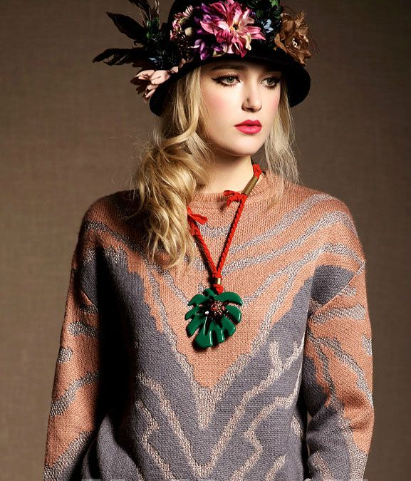 spring vintage style clothing, knitted item