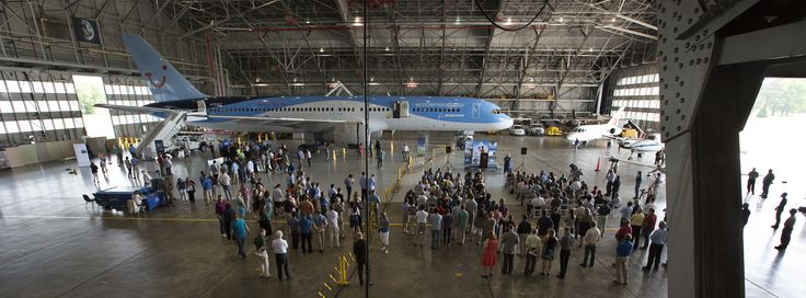 Through a partnership, teams from NASA Langley have run a pair of recent experiments aboard the aircraft, a commercial airliner retrofitted to test technologies intended to make future aircraft lighter, smarter and more efficient. The Boeing ecoDemonstrator 757 aircraft visited NASA Langley Research Center on June 17 and 18, 2015. Credit: NASA Langley/David C. Bowman