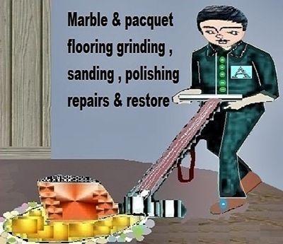 A4 Svcs marble & stone polishing  repairs  maintain & restoration serv