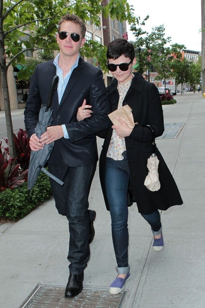 Ginnifer Goodwin and Josh Dallas in NYC Snow White and Prince Charming are getting married. Your argument is invalid.