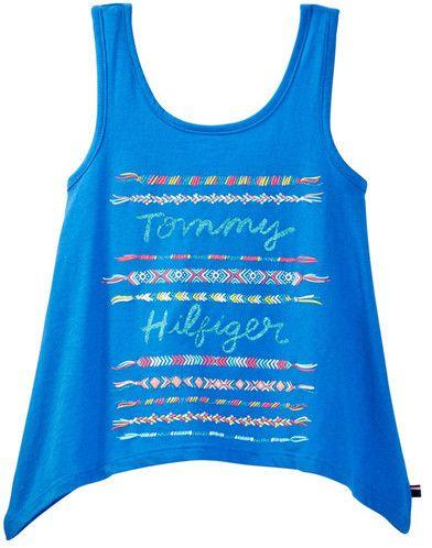 Tommy Hilfiger Friendship Graphic Tank (Big Girls)