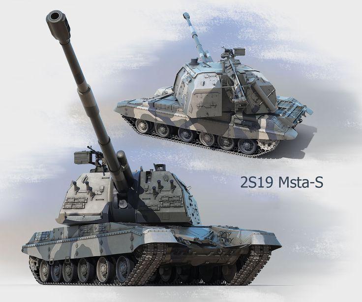 ZS19 Msta-S của Soviet búa liềm