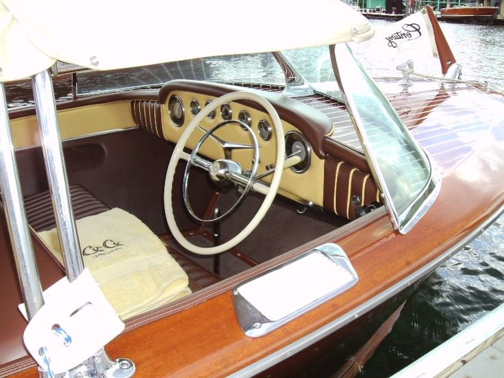 """This beautiful 1956 18′ Resorter """"Co Co"""""""