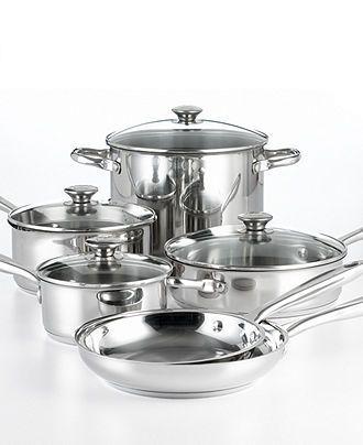Wolfgang Puck Cookware, 10 Piece Set - Cookware Sets - Kitchen - Macy's