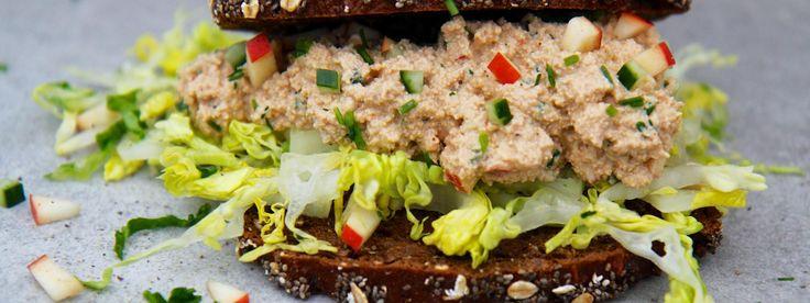 Sprød sandwich med torskerognssalat