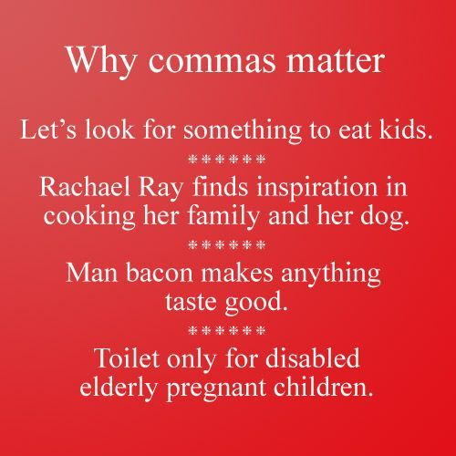 Mastering the Comma! (tons of FREE resources!)