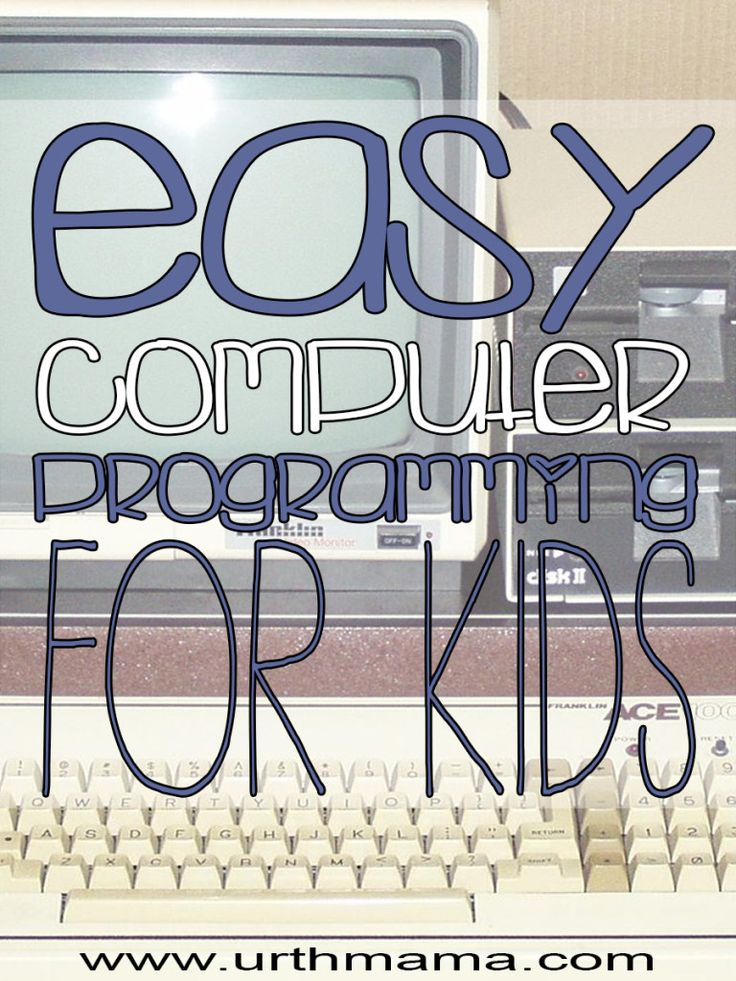 Easy Computer Programming For Kids D0 you have a little wannabe computer programmer...
