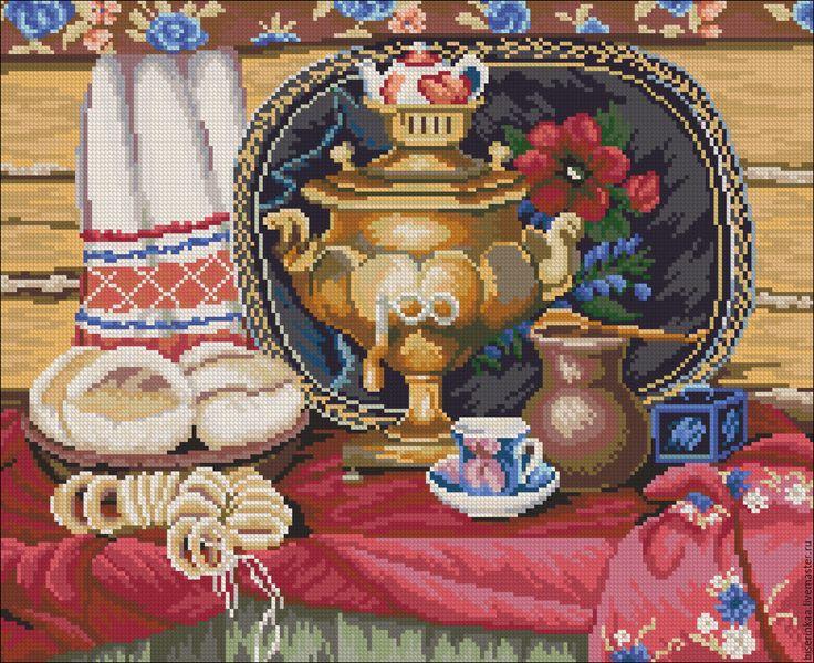это картинка калачи чай британские шиншиллы имеют