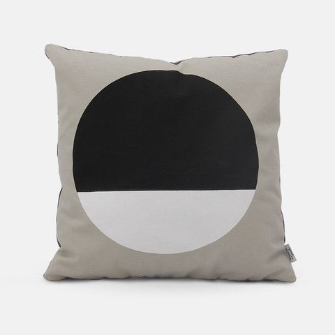 Black vs White Cushion by Jennifer + Smith | Available at www.LETLIV.co.nz