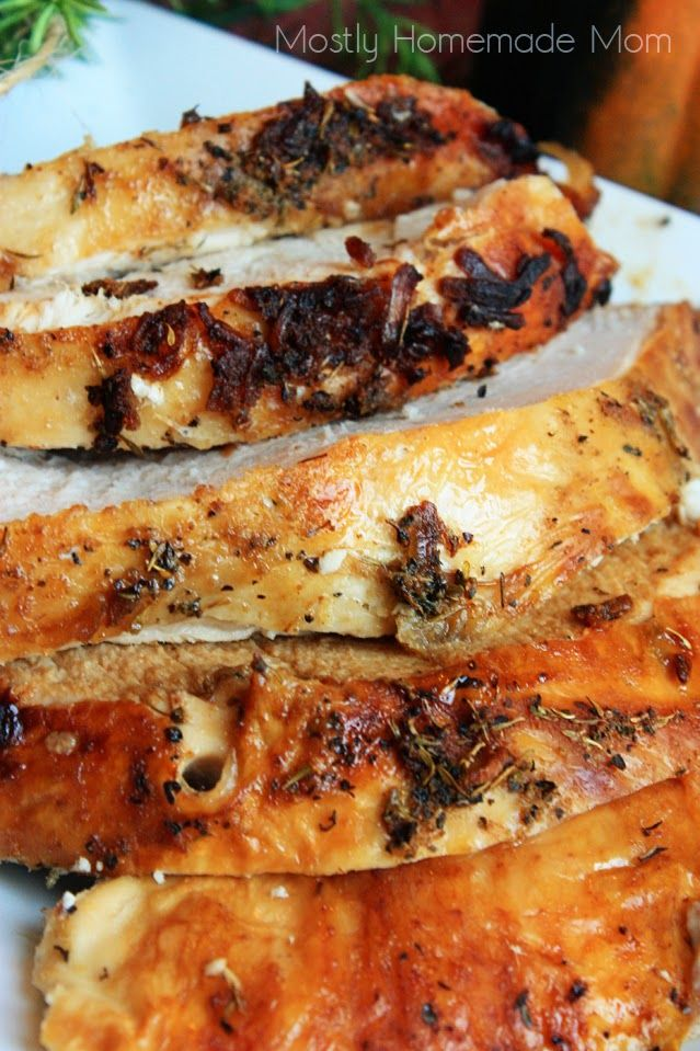 Mostly Homemade Mom: Super Moist Roast Turkey Breast