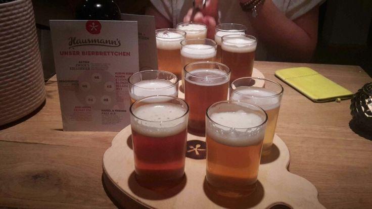 Bierbrettchen im Tim Mälzer's Hausmanns - Düsseldorf