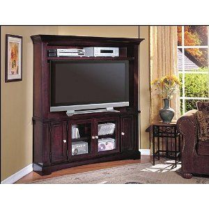 Hill 3 Piece Plasma/LCD Corner Entertainment Center By Parker House