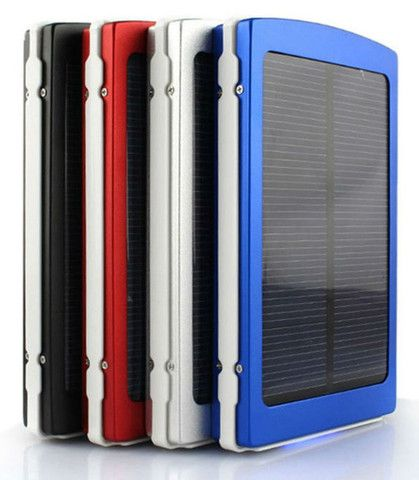 10000mAh Portable Solar Power Emergency USB Charger - Black, Blue, Red, or Silver $49.99 – Everlasting Essentials