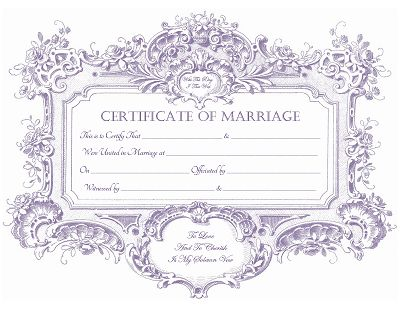 Marriage certificate template traditional and beautiful blank keepsake marriage certificate template free download how to be a yadclub Choice Image