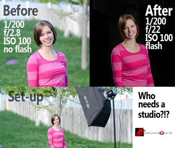 Studio Photos without a Studio