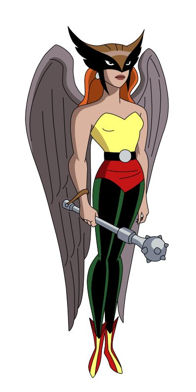 my toon version of hawkgirl from warner bros. justice league
