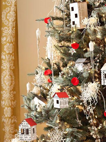Fresh Holiday Decorating Theme Black and White Clubhouse