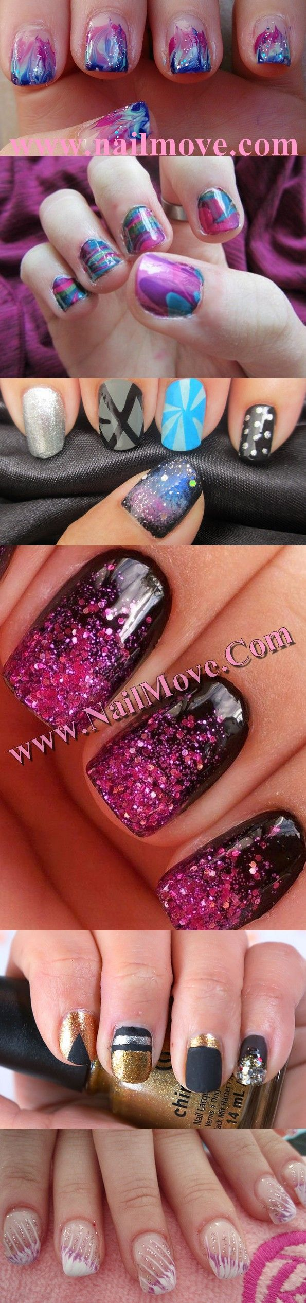 25 trending short nails 2014 ideas on pinterest trendy nails nail art at homenail art 2014nail art for short nails nail prinsesfo Images