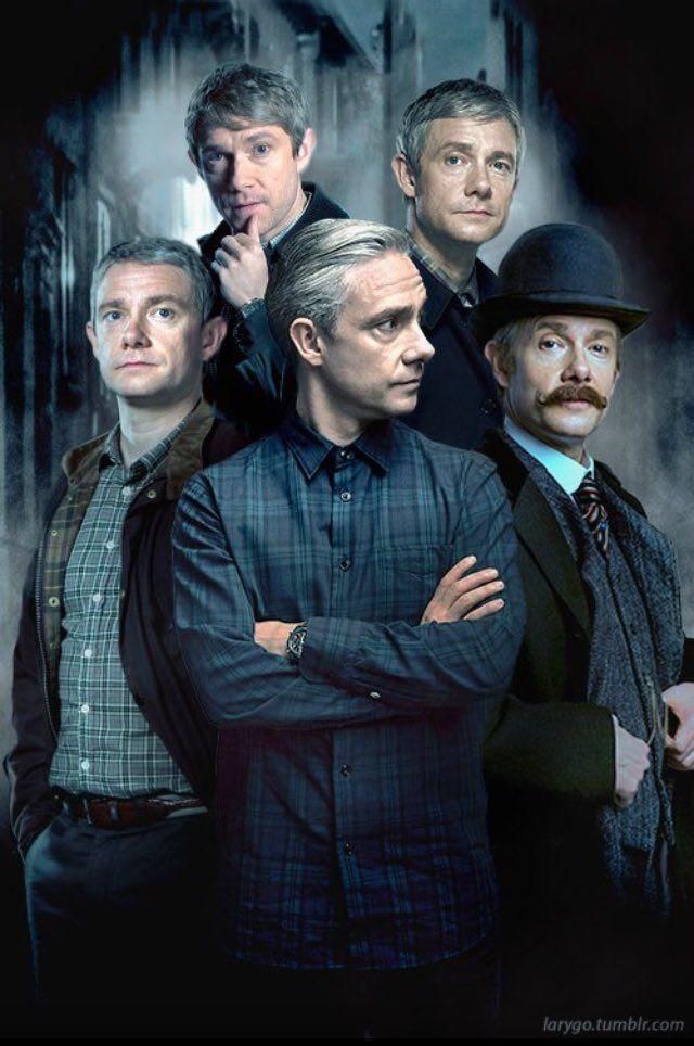 John Watson through the seasons. #Sherlock #BBC